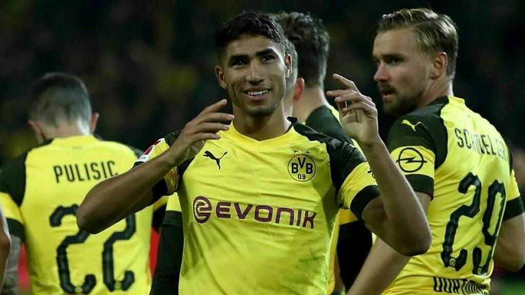 Achraf Hakimi Real Madrid Borussia Dortmund cesión