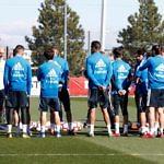 Real Madrid Zidane Entrenamiento Plantilla Valdebebas