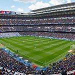 Estadio Santiago Bernabeu panoramica Real Madrid
