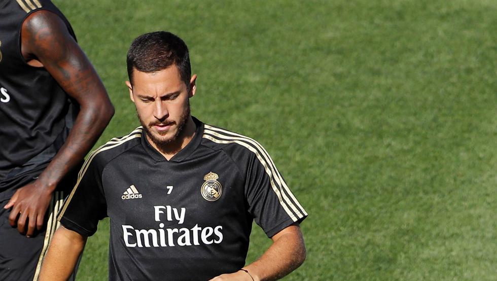 Eden Hazard lesionado Real Madrid