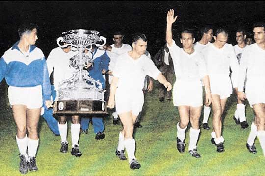 Trofeo Ramón de Carranza Real Madrid Puskas Di Stefano