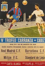 V Trofeo Ramón de Carranza Real Madrid FC Barcelona