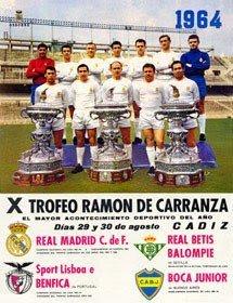 X Trofeo Ramón de Carranza Real Madrid Real betis