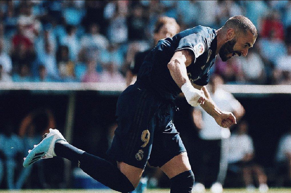 Karim Benzema gol Balaidos Real Madrid Celta