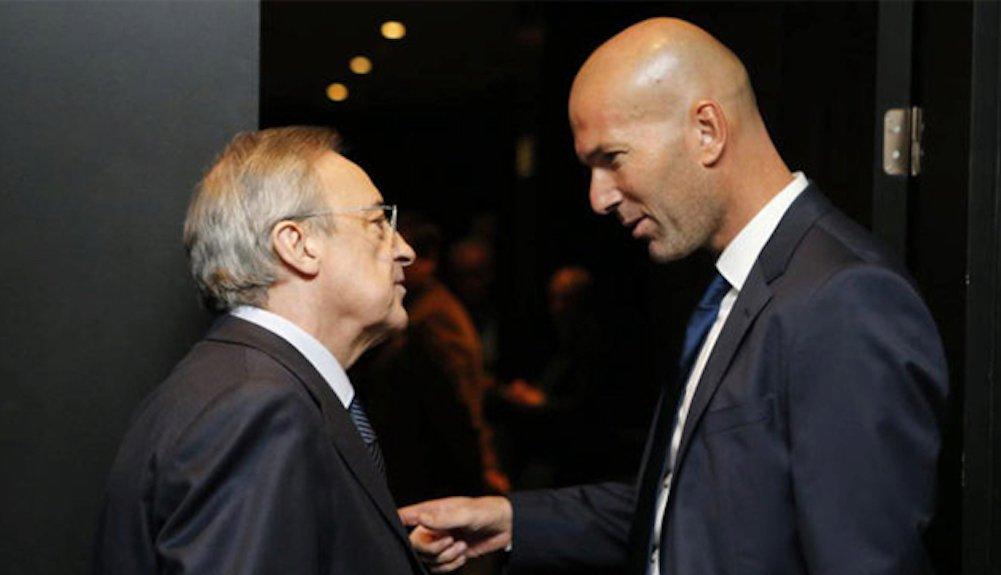 Florentino Pérez Real Madrid Zidane