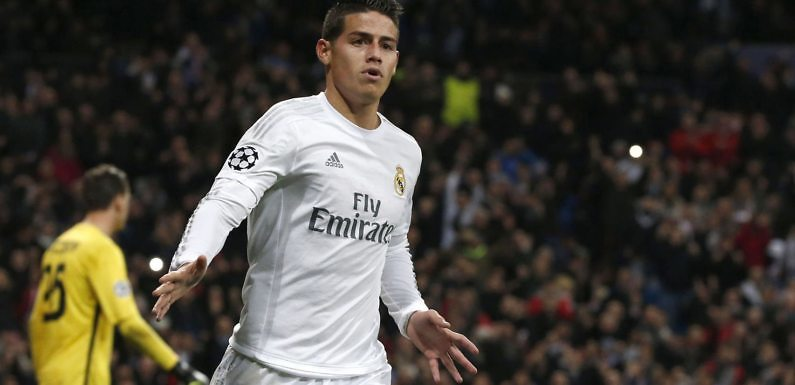 James Rodríguez from a Galactico to a one that waits an injury of a teammate to take a chance