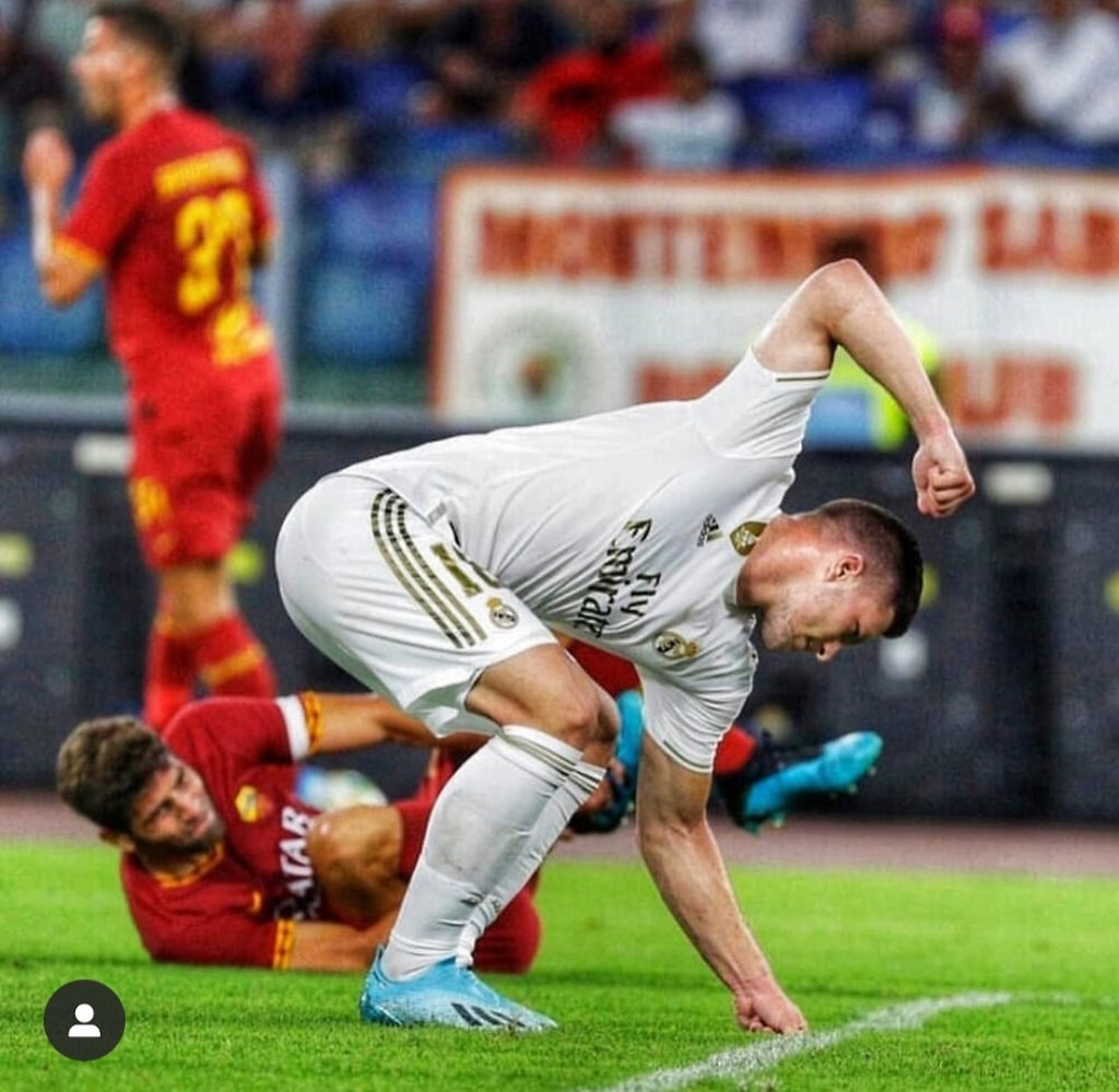 Luka Jovic Real Madrid cabreo enfado