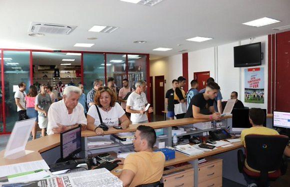 Almería on fire | 9% growth in season tickets