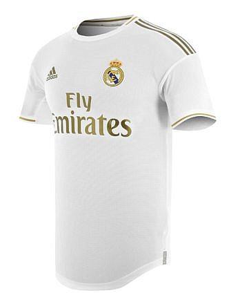 Camiseta 1ª Equipación Real Madrid Temporada 2019/2020. Licencia LFP