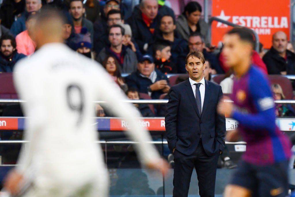 Lopetegui Real Madrid FC Barcelona Camp Nou
