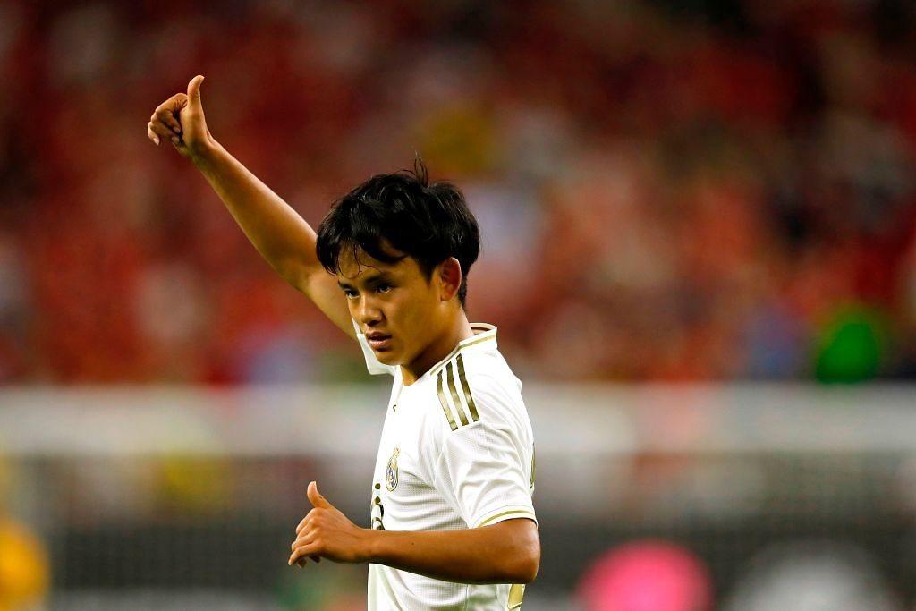 Kubo Real Madrid Japonés