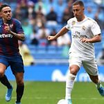 Eden Hazard Real Madrid Levante liga 2019-2020 bernabeu