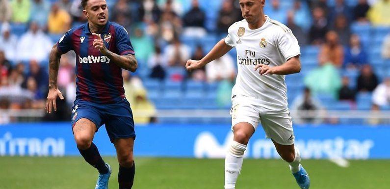 Minuto 93 del Real Madrid – Levante (Liga 2019-2020 Jornada 4)