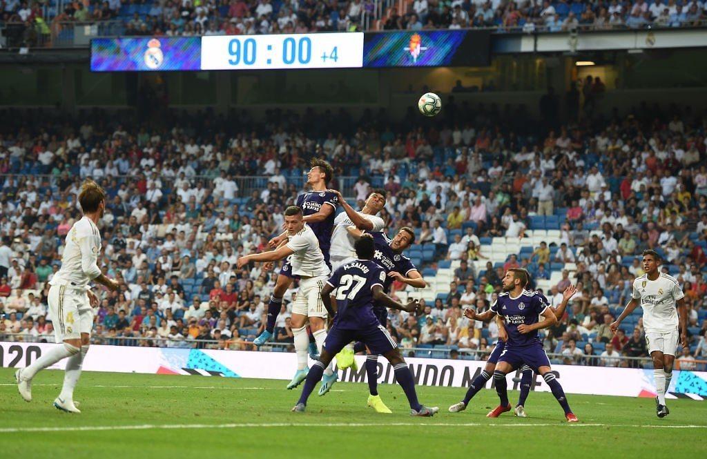 Luka Jovic real madrid real valladolid liga 2019-2020