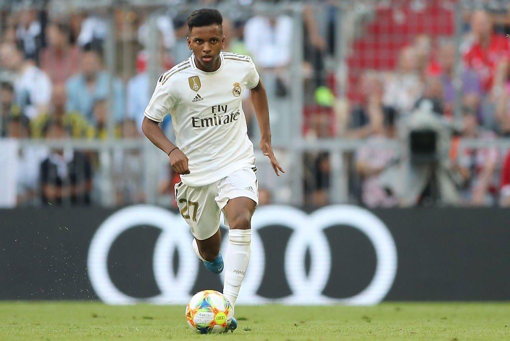 Rodrygo Goes Real Madrid pretemporada 2019