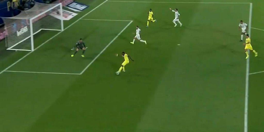Goles Villarreal Real Madrid Sergio Ramos