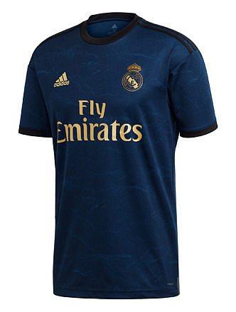 Camiseta 2ª Equipación Real Madrid Temporada 2019-2020. Licencia LFP