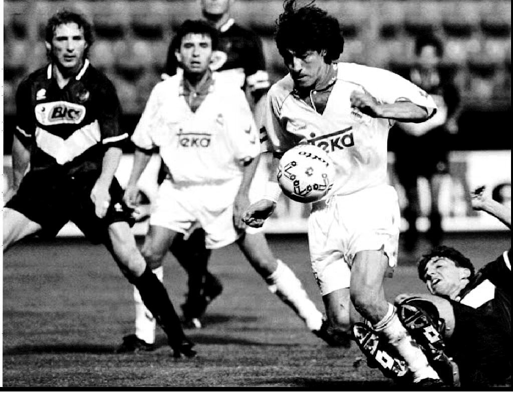 ivan zamorano real madrid delantero chileno