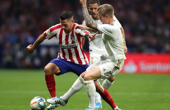 Minuto 93 del Atlético de Madrid – Real Madrid (Liga Santander 2019-2020, J7)