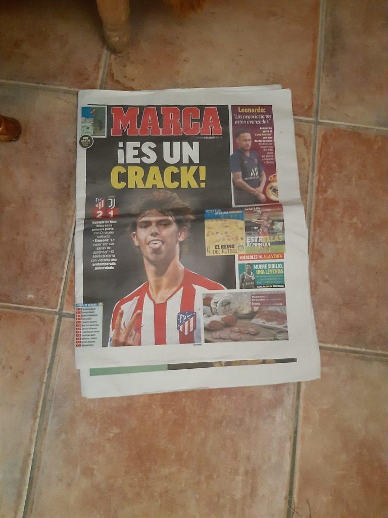 Joao Felix crack portada MARCA