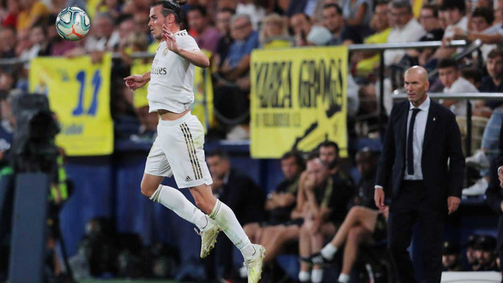Zinedine Zidane Gareth Bale Villarreal Real Madrid