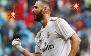 Karim Benzema Real Madrid Levante