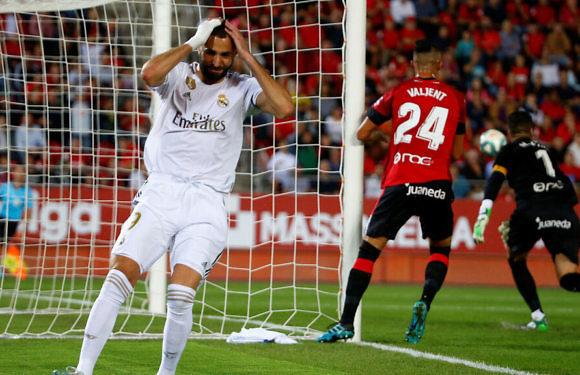Minuto 93 del Mallorca – Real Madrid (LaLigaSantander 2019-2020 Jornada 9)