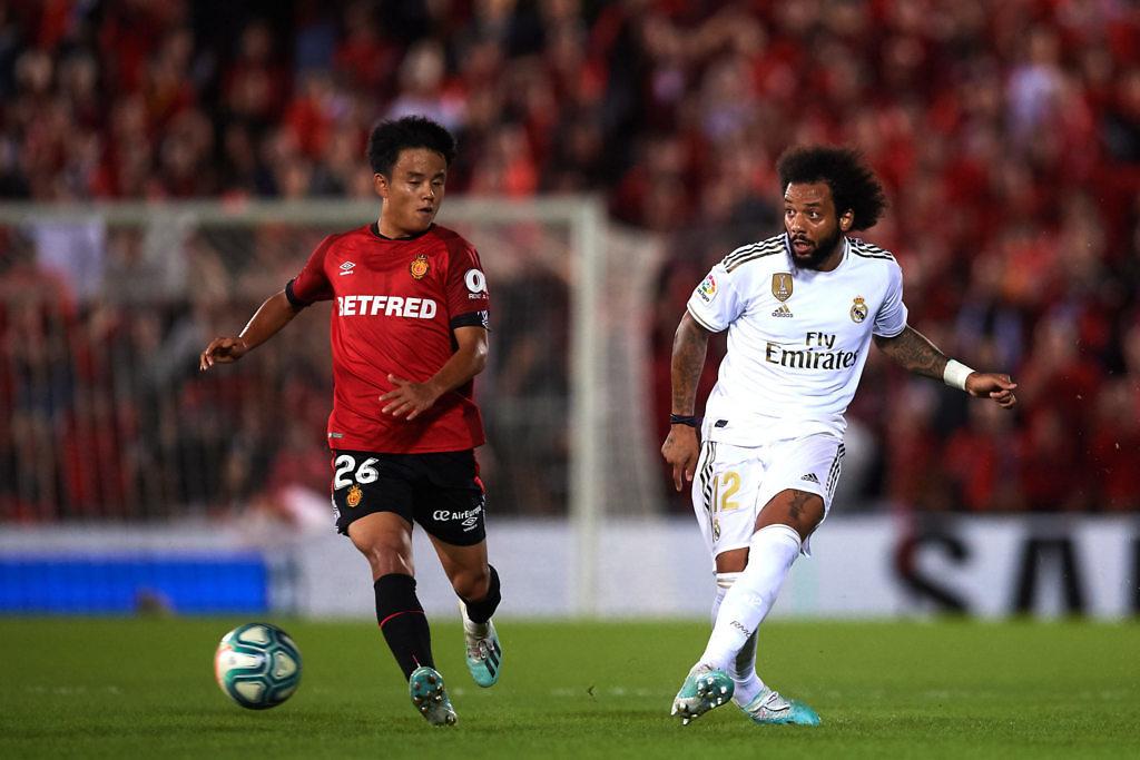 Kubo real madrid mallorca liga 2019-2020 marcelo