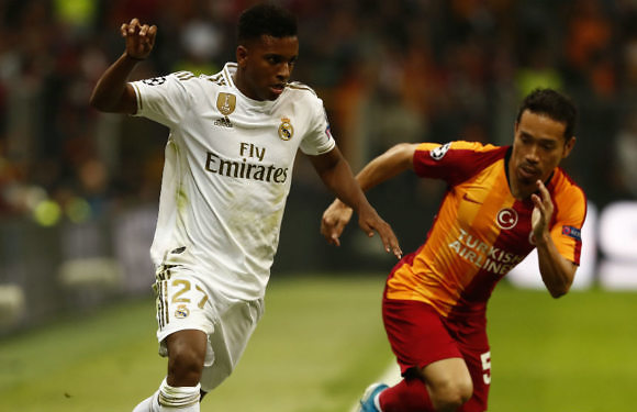 Minuto 93 del Galatasaray-Real Madrid (Champions League 2019-2020)
