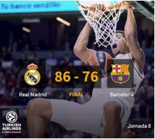 real madrid fc barcelona euroliga