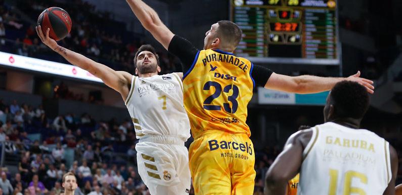 Liga ACB | Laprovittola rescata al Madrid