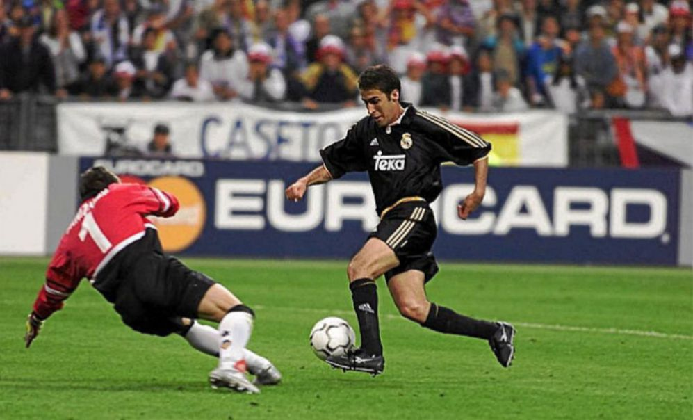 raul gonzalez blanco real madrid la octava champions league valencia paris gol
