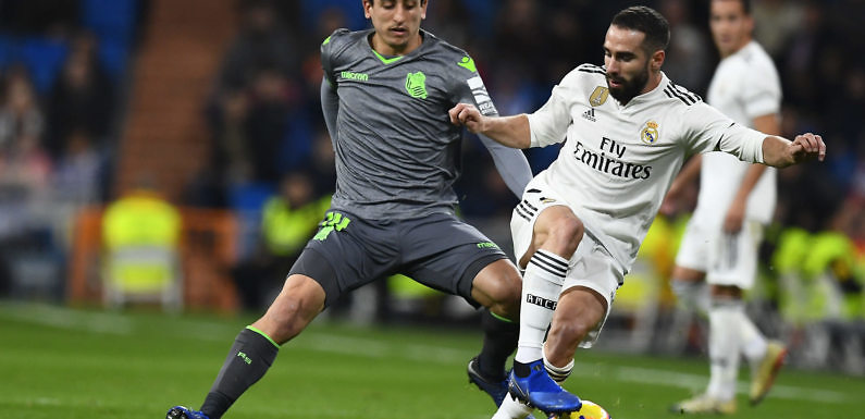 Posible Alineación del Real Madrid ante la Real Sociedad (23/11/2019)