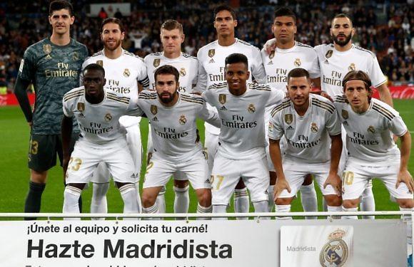 Minuto 93 del Real Madrid-Betis (LaLigaSantander 2019-2020 Jornada 12)
