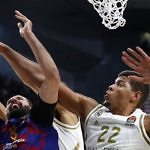 mirotic tavares real madrid fc barcelona tapon euroliga