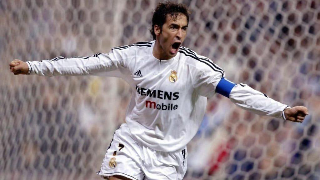 raul gonzalez blanco real madrid celebracion gol
