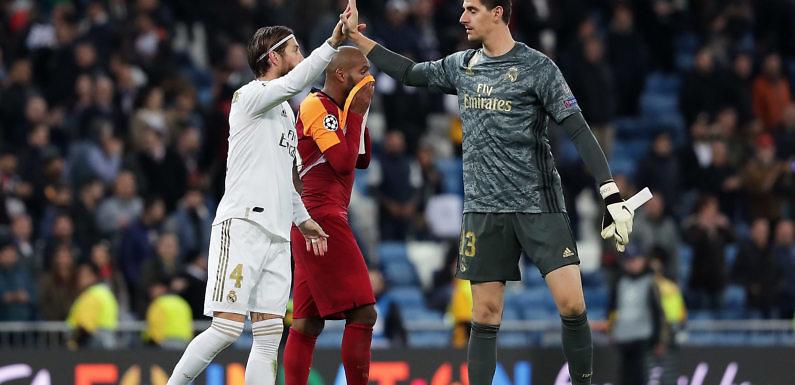 El Real Madrid forja un muro en la zaga