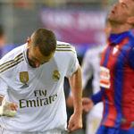 karim benzema real madrid eibar ipurua gol celebracion liga 2019-2020