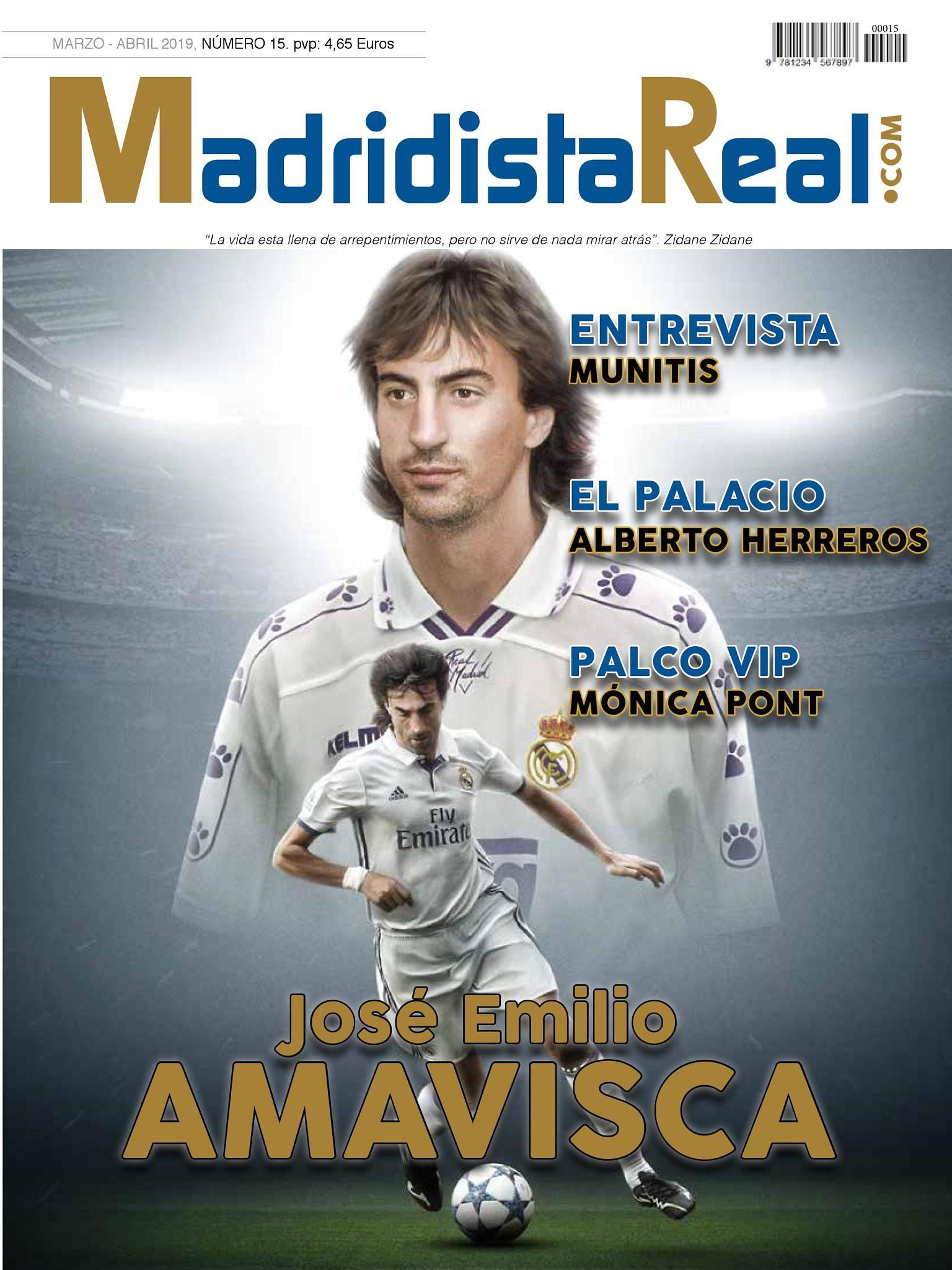 emilio amavisca madridista real revista entrevista