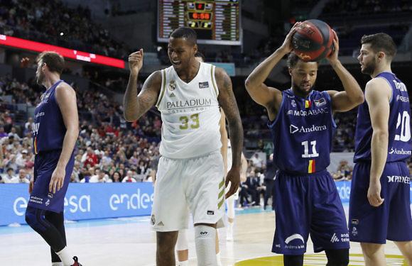 Liga ACB | La avalancha blanca sepulta al Andorra (91-60)