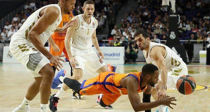 Liga ACB | El Real Madrid culmina la remontada contra el Valencia Basket