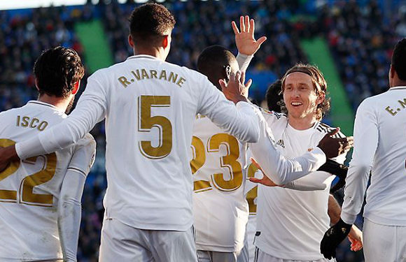 Calificaciones Blancas | Getafe 0-3 Real Madrid