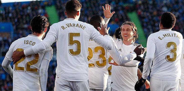 Calificaciones Blancas | Getafe 0-3 Real Madrid
