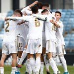 celebracion real madrid castilla gol segunda b 2019-2020