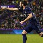 nacho fernández real madrid gol real valladolid liga