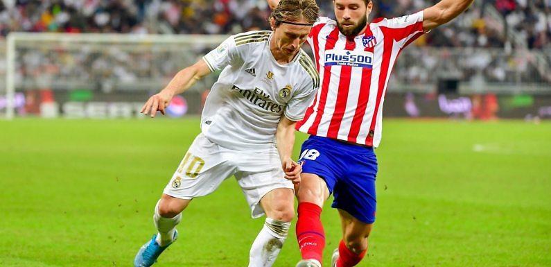 Posible alineación del Real Madrid ante el Atleti en Liga