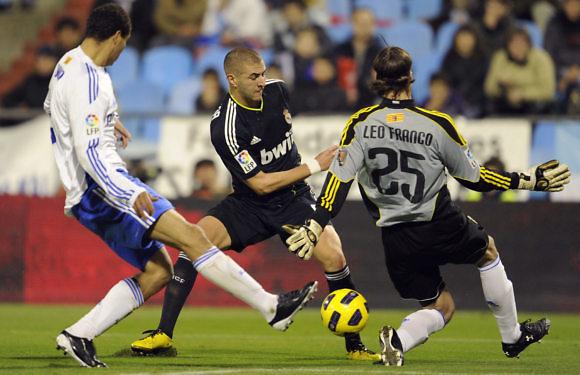 El Real Madrid – Real Zaragoza en la Copa del Rey