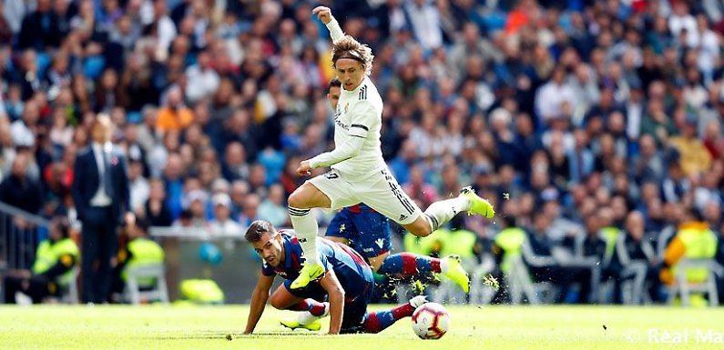 Previa Real Madrid – Levante | El Real Madri buscará ante el Levante no caerse de LaLiga