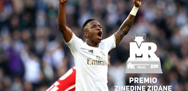 Premio Zidane 2019 | Nominado: Vinícius Jr