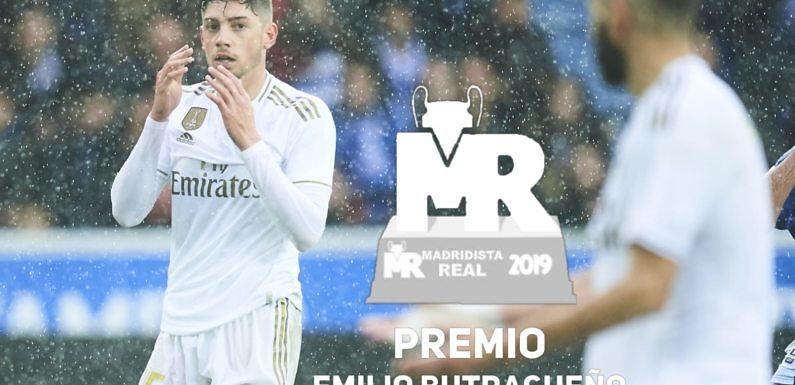 Premio Butragueño 2019 | Nominado: Fede Valverde
